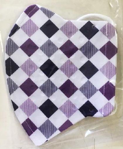 円型(鼻部円)格子紫白